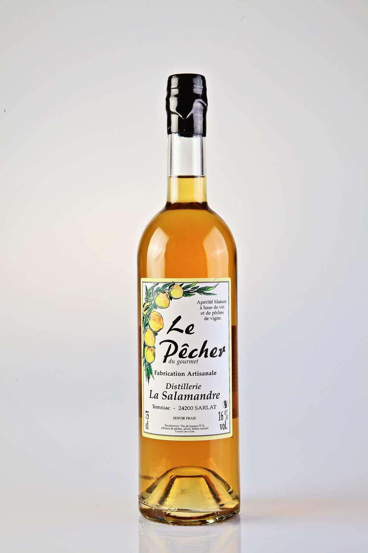 Célèbre Apéritif Le Pêcher - Distillerie la Salamandre IB13