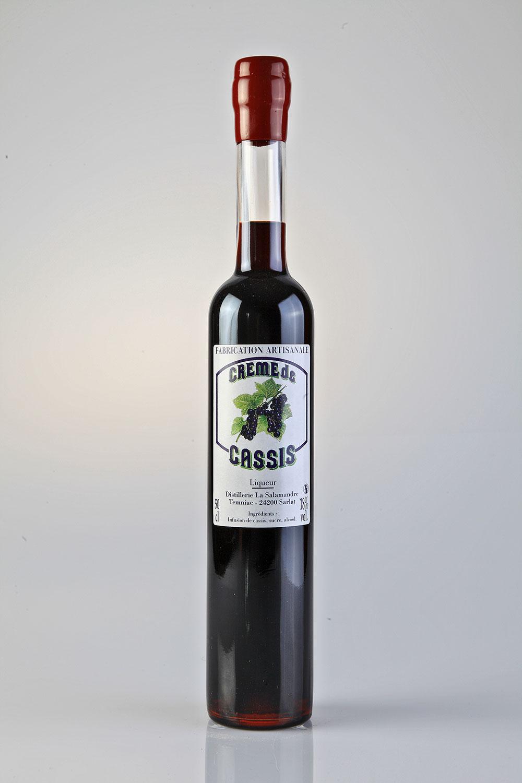 Creme De Cassis Pur Fruit Distillerie La Salamandre